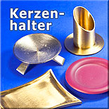 Kerzenhalter, Kerzenteller, Kerzenständer aus Keramik, Metall, Messing, Aluminium