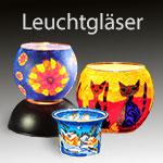 Windlichter, Windlicht für Tellichter, Gläser für Kerzen, Kerzen-Gläser, Kerzen-Glas - bekannt vom Weihnachtsmarkt