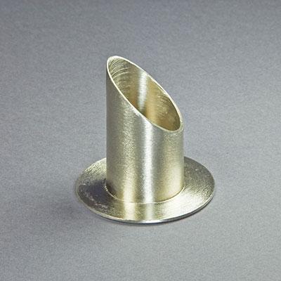 kerzenhalter metall messing silber d 4cm innen. Black Bedroom Furniture Sets. Home Design Ideas