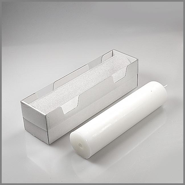 kerzenkarton f r kerzen bis 26 5 x 6cm. Black Bedroom Furniture Sets. Home Design Ideas