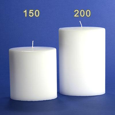kerzenrohling ovalkerzen 150 135mm im candela shop. Black Bedroom Furniture Sets. Home Design Ideas