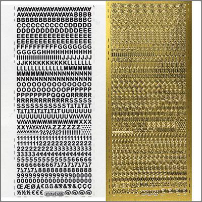 sticker buchstaben u zahlen 5mm gold zum kerzen verzieren. Black Bedroom Furniture Sets. Home Design Ideas